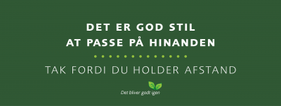 Hold afstand facebook cover
